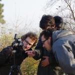 Kontrola pádu na kameře