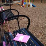 Lavičkový deník v parku